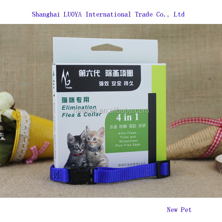 Excellent quality modern design 4 in 1 elimination flea pet supplies dog rope dog collar