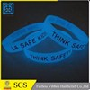 New style factory supply popular custom logo silicone rubber wristbands