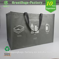 Promotional metallic tote bags