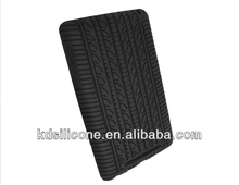 Black Silicone Tyre Skin for Google Nexus 7 Android Tablet cover/case