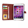 Flip Wallet Case For iPad Mini 4, Leather Stand Case w/ Card Holder For iPad Mini 4