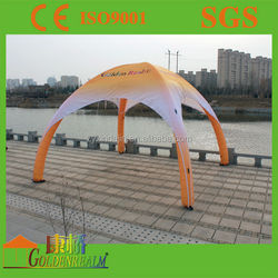 Dome shaped spider tent inflatable,inflatable spider tent for sale