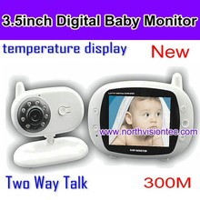 wireless video baby monitor with 3.5 inch monitor