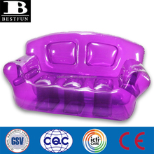 high quality inflatable bubble sofa transparent inflatable beach couch durable inflatalbe purple chesterfield sofa furniture