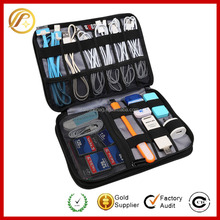 2017 New And Hot Product travel cable organizer Multi function digital travel bag waterproof Double Layer Travel Gear Organizer