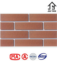 Smooth face acid resistant split bricks