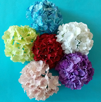 Hydrangea artificial flower for holiday decorations