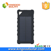 Universal Waterproof portable 16000mah solar power bank with Camping Light,Dual USB Solar charger &LED lamp