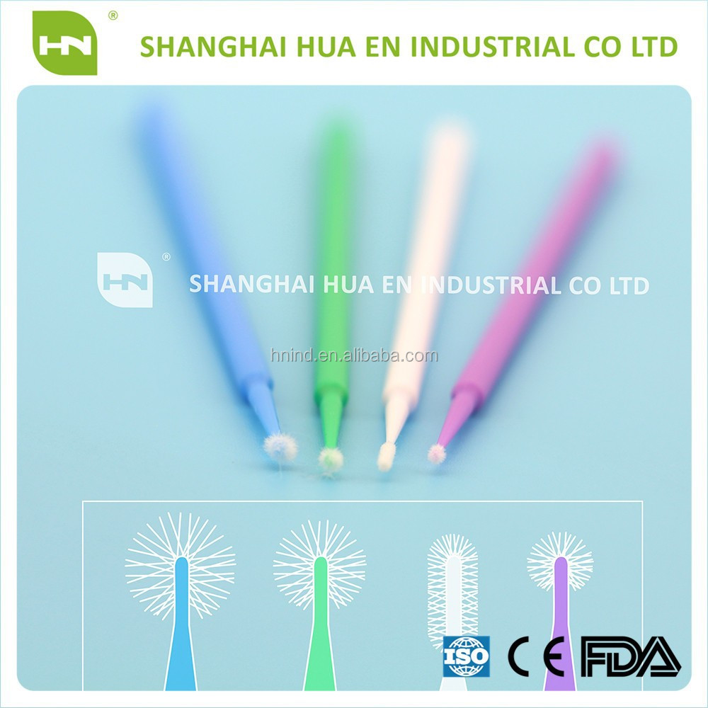 Disposable Dental Miniature Brush Micro Brush Applicator Mini Brush