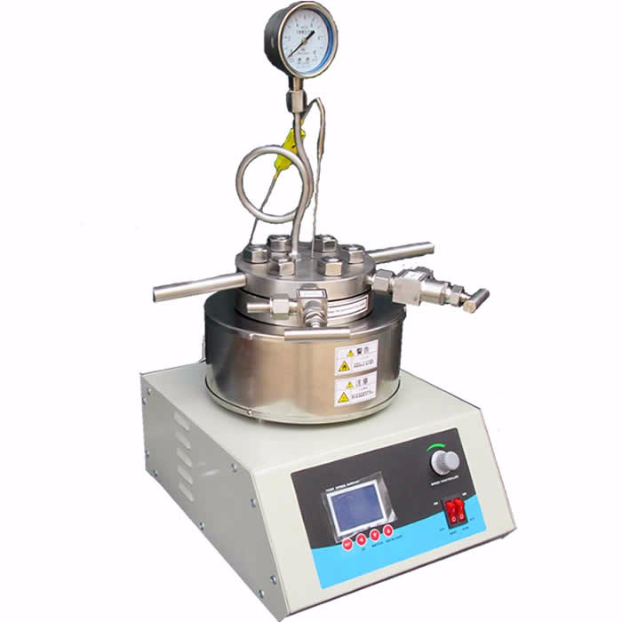 lab hand-lifted high pressure stainless steel  reactor  TOPT-TFCF5-10