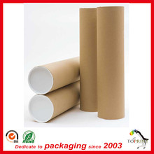 Eco mailing tube paper postal tube cardboard tube for poster wholesale
