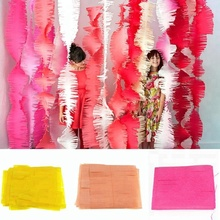 Fringed Party Streamers Tissue Paper Fringe Garland