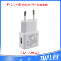 5V 2A EU Plug Usb Travel Home Wall Charger ETA-U90EWE For Samsung S6 S7 Note 5 Note S4 S3 i9505 i9500