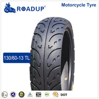 motorbike tubeless tyre 130/60 13 tire for scooter in Madagascar 6PR