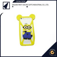 Custom funky cute 3d mobile phone case silicon material