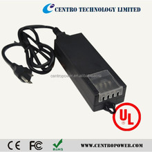 UL 12V 5A power supply with 4 ports use for 4 cctv cameras adapter