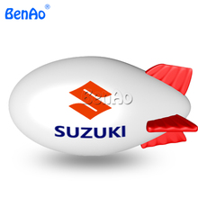 AO122 4m Cheap inflatable advertising balloons / big inflatable air blimp/ air ship/ helium balloon for sale