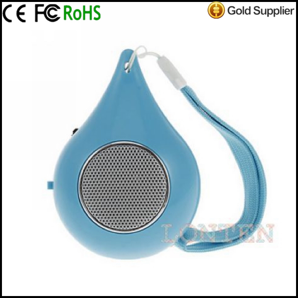 Droplets Style MP3 Mini Portable Speaker Read TF Card (<strong>K</strong>-<strong>16</strong>)