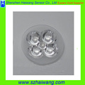 High Transmittance Optical LED Spot Lens 4 in 1
