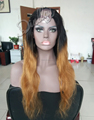 Omber wig Human hair no shed no tangle hair Hot sale u part wig for sale