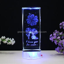 Wholesale Bulk Creative Fashion Crystal Cube for gifts