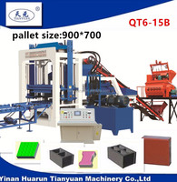 Tianyuan Factory small concrete block making machine