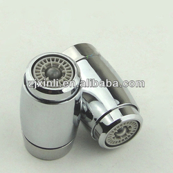 ABS Led Lighted Faucet Aerator, Polish and Chrome Finish, 3 Colors Changed by Water Temperature, No Need Batteries