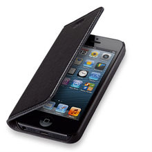 2014 new products folio pouch Flip leather case for Apple iphone 5c