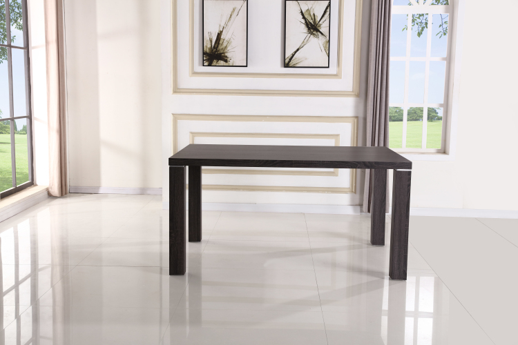 Low Price Of 152*100*76cm dining table designs in mdf