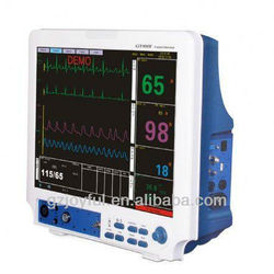 Portable Multi-parameter 12.1 inch health care patient monitor