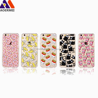 360 degree 3D moving eyes custom TPU pc case for iphone 6