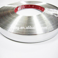 Flat Pvc Chrome Extrusion Moulding Trim Strip For Car And Article Decoration