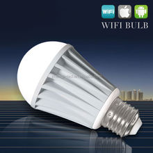 Hi -tech 6w E26/E27/B22 Milight LED Bulb with Remote Control System by iphone /ipad /android