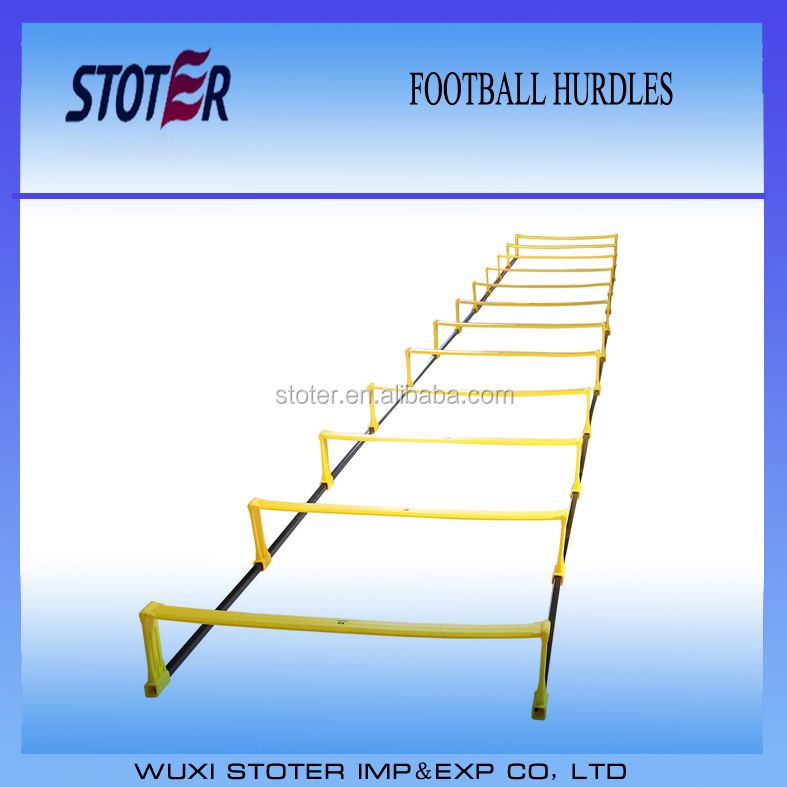 2016 new design soccer hurdles Cheap football agility hurdles
