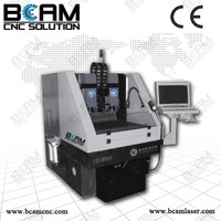 Bcamcnc Hot sell tempered glass screen protector cutting machine, cell phone screen protector processing machine for any screen