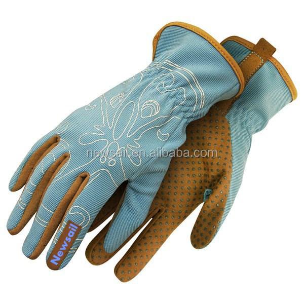 Newsail 2016fashion Design Women Garden Gloves synthetic