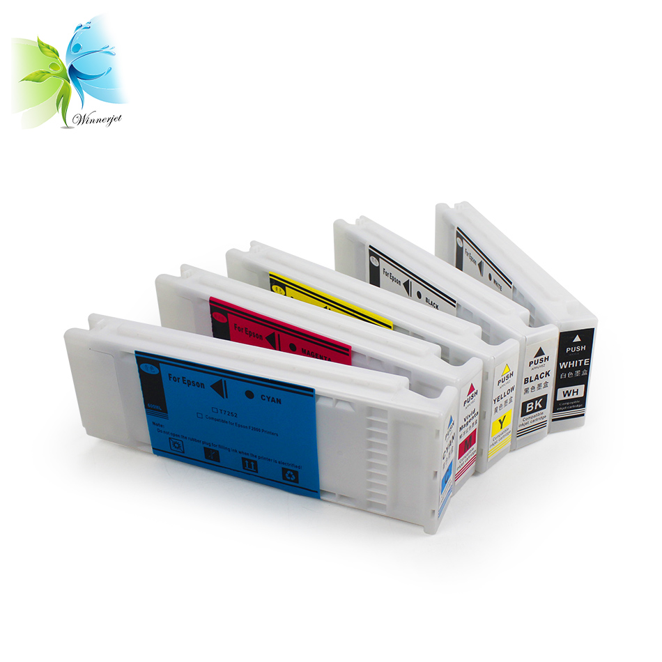 CHINA wholesale price FULL / EMPTY compatible ink cartridge SureColor F2000 F2100 for EPSON textile inkjet printer