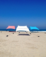 Sunproof large Beach Tent with Sand Anchor