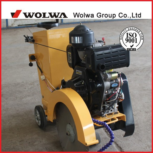 hand or electric start concrete road cutter