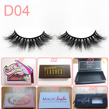 high quality private label china Wholesale mink eyelash with custom boxes