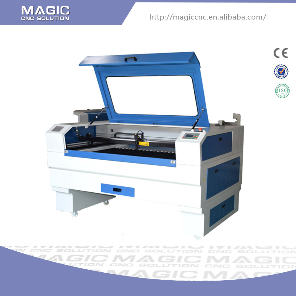 Long life time high ability small laser engraving and cutting machine for wood