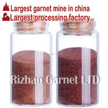 waterjet cutting abrasive garnet 80mesh cuts quicker than indian garnet abrasive