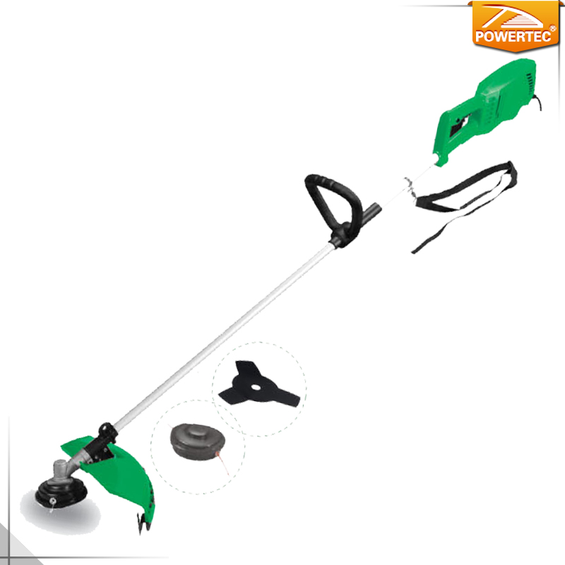 POWERTEC 1200w 420mm electric Grass Trimmer