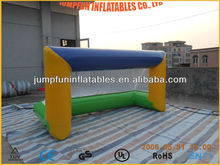 Float inflatable water volleyball/polo ball gate/beach ball goal