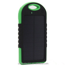 High Quality Factory USB 5.2V 5000mAh Mobile Solar Charger/ Solar Power Universal Mobile Phone Charger/ Solar Power Station