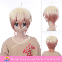 New arrival quality two tone color cosplay wig for devils and realist Willian Twining