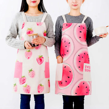 New style taizhou utility double sided cotton silk screen printed aprons oil resistant apron