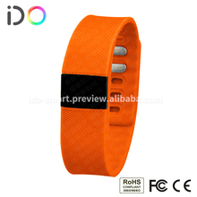 New Arrival Bluetooth Heart Rate Monitor Watch , Bluetooth Pedometer Bracelet For Android Phone
