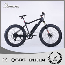 2016 Hot Sale Mountain non-folding Fat tyre Beach electric dirt bike/bicycle/ebike
