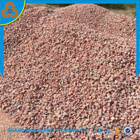 red color gravel and pebble stone for aquarium landscaping or building